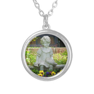 Tranquil Gardens Round Necklace