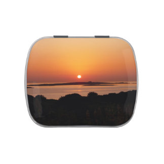 Tranquil Greek Sunset Jelly Belly Candy Tin