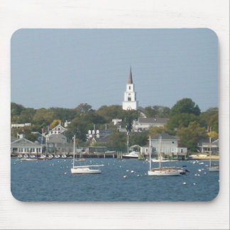 Tranquil Harbor Mouse Pad