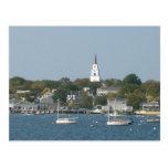 Tranquil Harbor Postcard