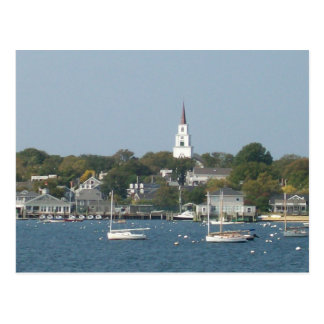 Tranquil Harbor Postcard