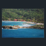 "Tranquil Island Paradise Labadee Haiti Placemat<br><div class=""desc"">An original fine art photograph by Shelley Neff Photography featuring the beautiful island paradise of Labadee, Haiti. This image makes the perfect thank you gift for cruise travel agents who want to express their appreciation to their clients. Would also make a great gift for cruise lovers, travelers and tropical island...</div>"