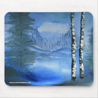Tranquil Lake Mousepad