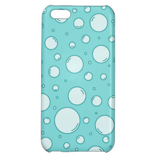 Tranquil Light Turquoise Bubbles iPhone 5C Cover