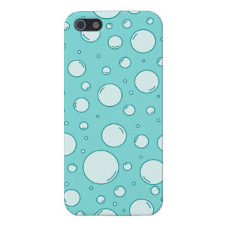 Tranquil Light Turquoise Bubbles iPhone SE/5/5s Cover