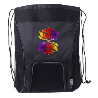 Tranquil Moments (TM) Rainbow Lotus tote bag