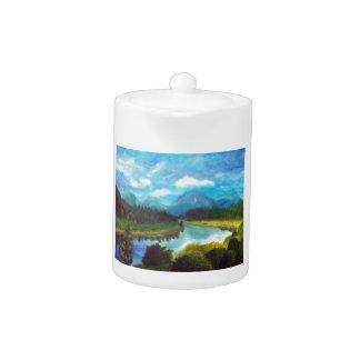 Tranquil Mountain Teapot