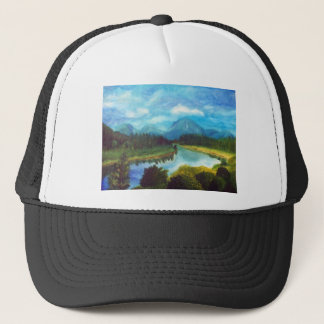 Tranquil Mountain Trucker Hat