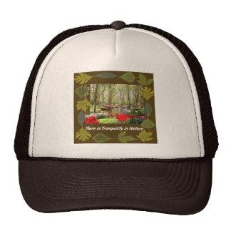 Tranquil Nature Cap Mesh Hat