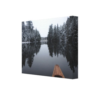 Tranquil Paddle Canvas Print
