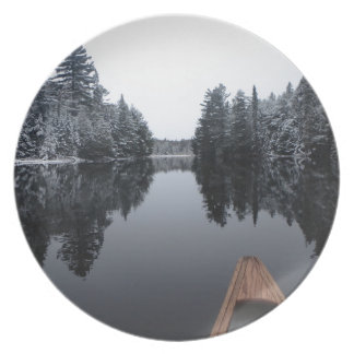 Tranquil Paddle Dinner Plate