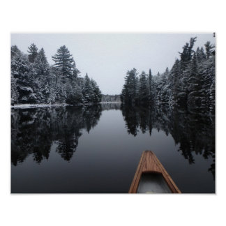 Tranquil Paddle Poster