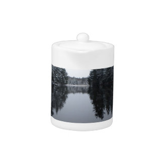 Tranquil Paddle Teapot
