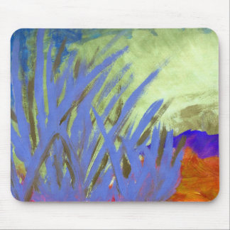Tranquil reeds in Summer Mouse Pad