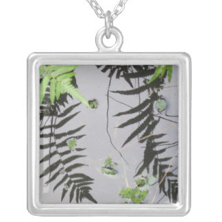Tranquil Reflections, Fern Fronds Necklace