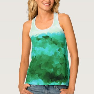 Tranquil Reflections Summer Fashion Tank Top