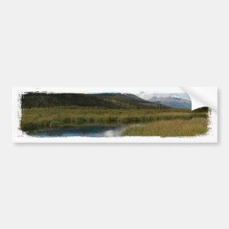 Tranquil River Bumper Sticker