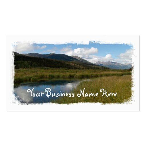 Tranquil River Business Card