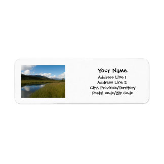 Tranquil River Label