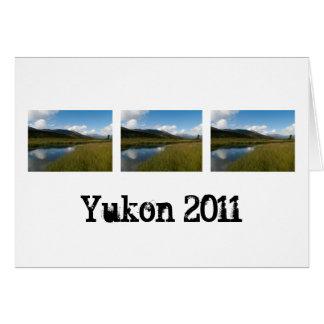 Tranquil River; Yukon Territory Souvenir Card