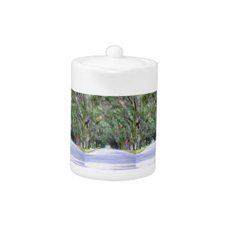 Tranquil Road Teapot