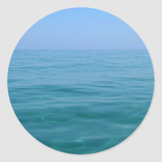 Tranquil Sea and Sky Stickers
