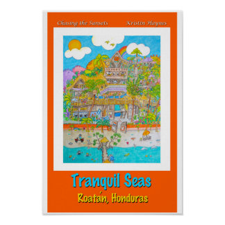 Tranquil Seas Poster