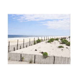 Tranquil Seaside Heights Summer of 2012 Gallery Wrap Canvas