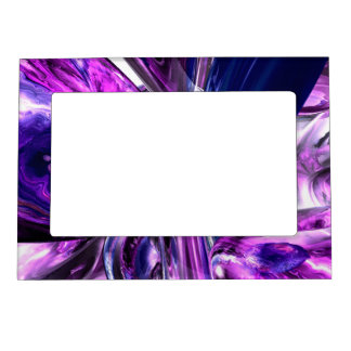 Tranquil Sedative Abstract Magnetic Frame