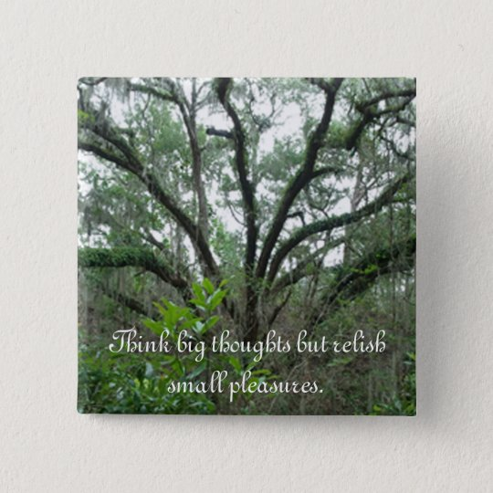 Tranquil Tree Button