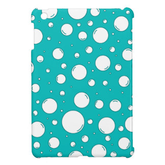 Tranquil Turquoise Bubbles iPad Mini Cases