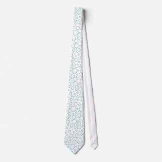 Tranquil Turquoise Bubbles Tie