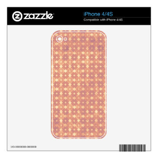 Tranquil Upbeat Unwavering Kind Decals For The iPhone 4S