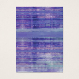 Tranquil Waters Blue Abstract Art Business Cards