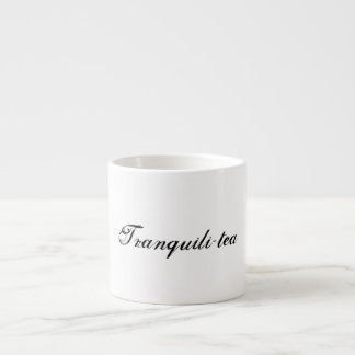 Tranquili-tea Espresso Cup