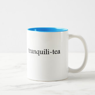 Tranquili-tea Tea Cup Mugs