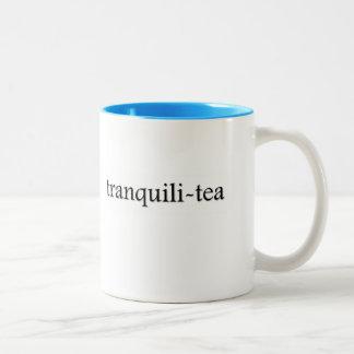 Tranquili-tea Tea Cup Two-Tone Coffee Mug