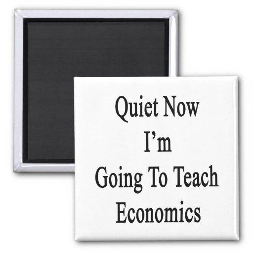 Tranquilidad ahora voy a enseñar a la economía iman para frigorífico