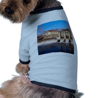 Tranquilidad del invierno camiseta de perro