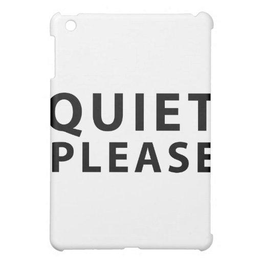 Tranquilidad por favor