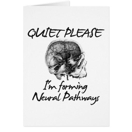 Tranquilidad por favor: Estoy formando caminos de  Tarjetas
