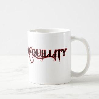 Tranquilidad profana (original blanca) tazas de café