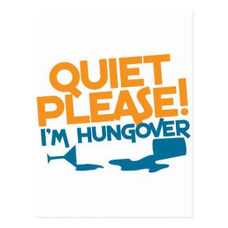 Tranquilidad… soy por favor hungover