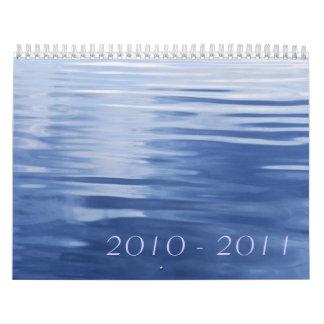 Tranquility, 2010 - 2011 calendar