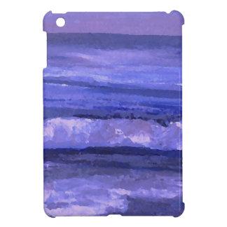 Tranquility 2 Purple Sea Waves Art Ocean Decor iPad Mini Covers