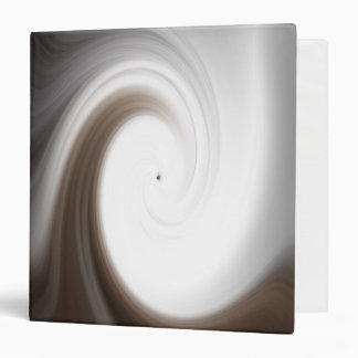 Tranquility Abstract Art Three Ring Binder