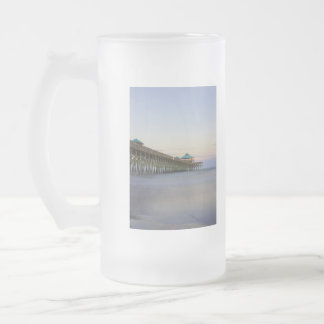 Tranquility At Folly Frosted Glass Beer Mug