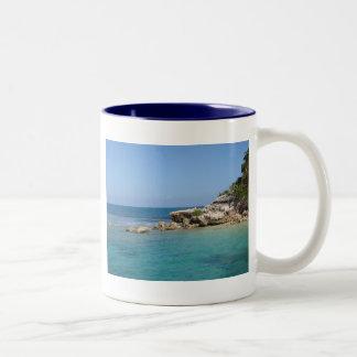 Tranquility Base Two-Tone Coffee Mug