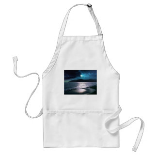 Tranquility Beach Moonrise Adult Apron