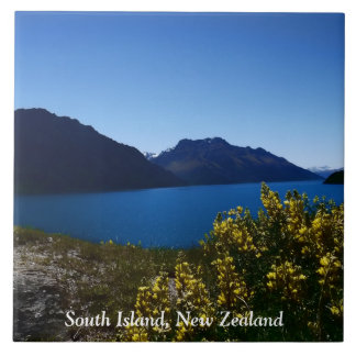 Tranquility Blues South Island, New Zealand Cerami Ceramic Tile